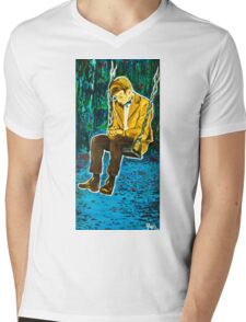 The Lonely Doctor Mens V-Neck T-Shirt