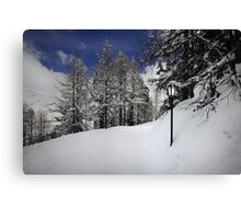 Welcome to Narnia Canvas Print