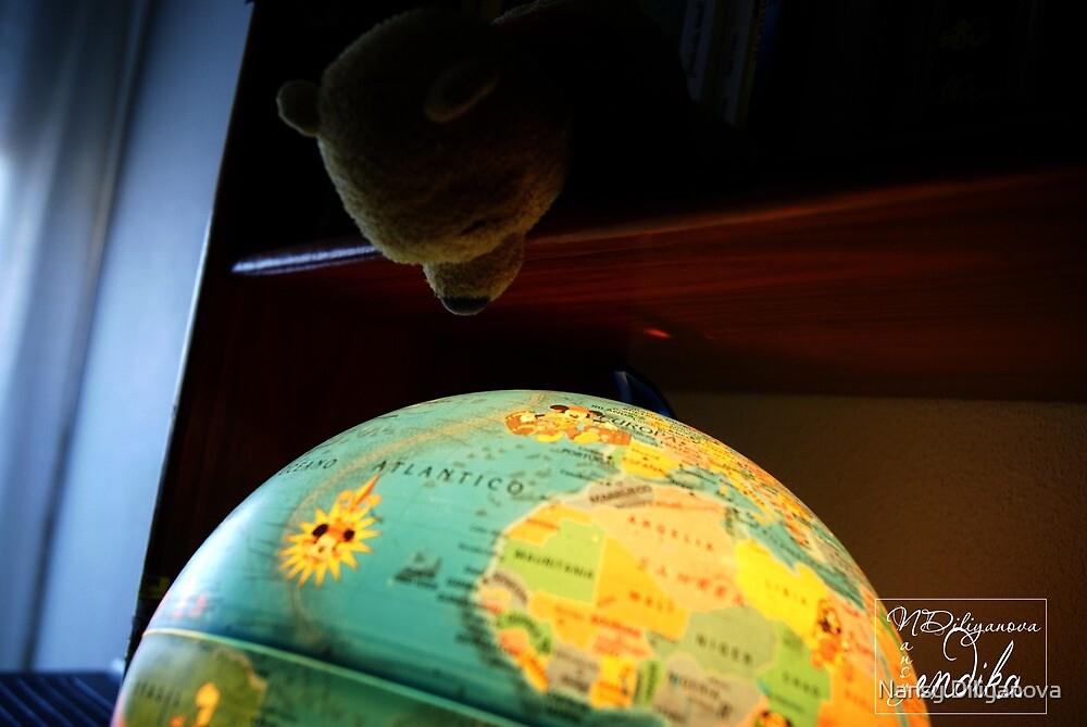 The world by Nansy Diliyanova