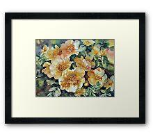 Margaret's Roses Framed Print