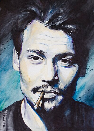 Johnny Depp by Slaveika Aladjova