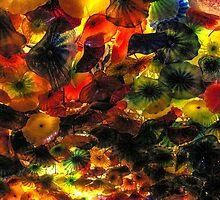 Glass Flowers by Darryl Brewer