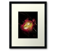 the ring of power Framed Print
