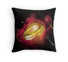 the ring of power Throw Pillow