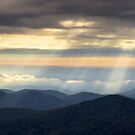 Light Rays from Blue Ridge Parkway - Atmosphere by Dave Allen