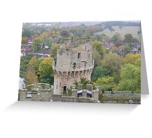 Ceasar's Tower - Warwick Castle Greeting Card