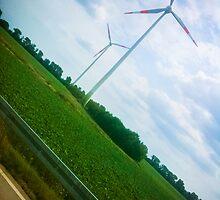 Wind Energy [ iPad / iPod / iPhone Case ] by Mauricio Santana