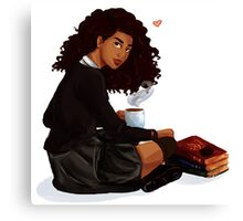 Books and Butterbeer Canvas Print