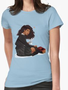 Books and Butterbeer Womens Fitted T-Shirt