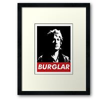 Bilbo the Burglar Framed Print