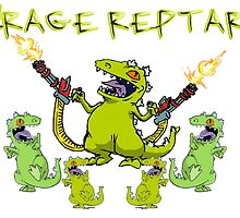 #RageReptar by UKDxGFX