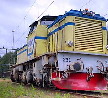 Locomotives of Värnamo II by João Figueiredo