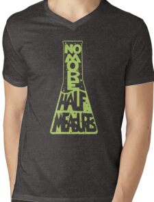 Full Measures Mens V-Neck T-Shirt