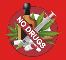 no drugs One Piece - Short Sleeve