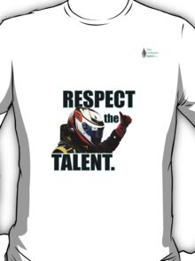 KR - Respect The Talent - Black T-Shirt