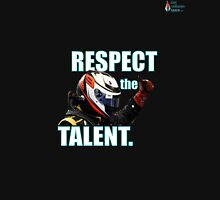 KR - Respect The Talent - White Unisex T-Shirt