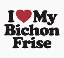 I Love My Bichon Frise			 by iheart