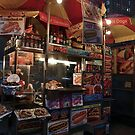 NY Hot Dog Stand by Stephen Burke