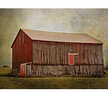Once was red Photographic Print