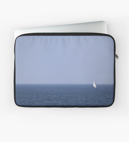Alone at Sea Laptop Sleeve