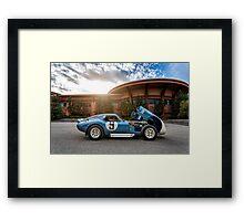 1965 Shelby Daytona Coupe Framed Print