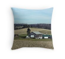 Pennsylvania countryside Throw Pillow
