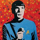 Mr Spock by Gary Hogben
