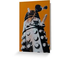 Dalek Greeting Card