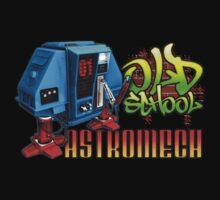 Old School Astromech - Back by Jeffery Wright