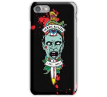 Zombie Killers Gang iPhone Case/Skin