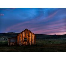 Bodie at Sunset Photographic Print