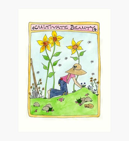Cultivate Beauty Art Print