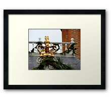 Crowned with Glory Framed Print