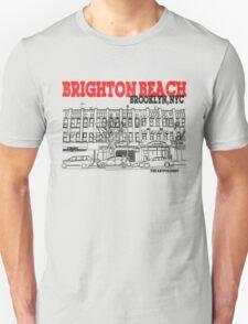 Brighton Beach Avenue Storefronts T-Shirt