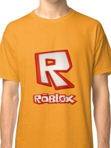 Roblox R Logo Classic T-Shirt