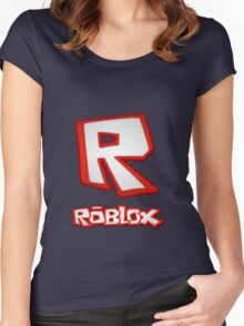 Roblox R Logo Women's Fitted Scoop T-Shirt