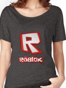 Roblox R Logo Women's Relaxed Fit T-Shirt