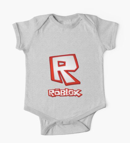 Roblox R Logo One Piece - Short Sleeve