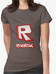 Roblox R Logo Womens Fitted T-Shirt
