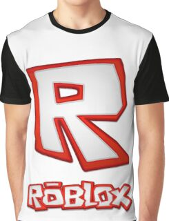 Roblox R Logo Graphic T-Shirt