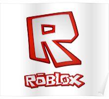 Roblox R Logo Poster