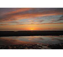 Sunset Cumbria Photographic Print