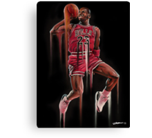 His Airness Canvas Print