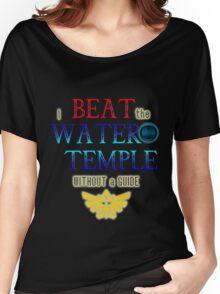 I beat the Water Temple Without a Guide Women's Relaxed Fit T-Shirt