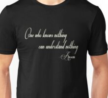 Kingom Hearts - One Who Knows Nothing Unisex T-Shirt
