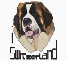 I LOVE SWITZERLAND T-shirt by ethnographics
