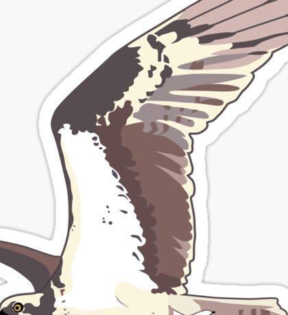 Osprey Bird Flying Sticker