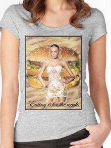 Don't Feed the Models Women's Fitted Scoop T-Shirt