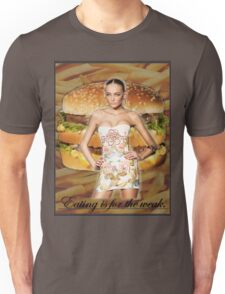 Don't Feed the Models Unisex T-Shirt