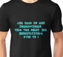 The Odds Are 3720 to 1, in Aurebesh Unisex T-Shirt